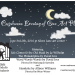 CCP One Acts Poster